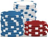 Vegas Chips Lifesize Standup Cardboard Cutouts