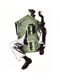 This House is Alive Giclee Print by Ron Liberti