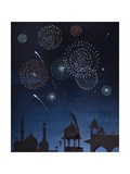 Festival of Light, 2014 Giclee Print by Rebecca Campbell