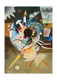A Centre, 1924 Giclee Print by Wassily Kandinsky