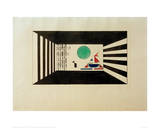 Pictures at an Exhibition Picture II Gnomus, 1930 Giclée-trykk av Wassily Kandinsky
