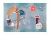 Round and Pointed, 1930 Lámina giclée por Wassily Kandinsky