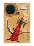 Pointed Red Shape, 1925 Giclee Print by Wassily Kandinsky