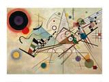 Composition VIII, 1923 Gicléedruk van Wassily Kandinsky