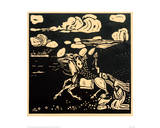 The Knights, 1907 Giclee Print by Wassily Kandinsky