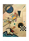 Contrasting Sounds, 1924 Giclee Print by Wassily Kandinsky