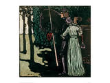 The Farewell, 1903 Giclee Print by Wassily Kandinsky