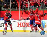 Eric Fehr Goal Celebration 2015 NHL Winter Classic Action Photo