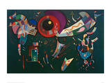 Around the Circle, 1940 Giclee Print by Wassily Kandinsky