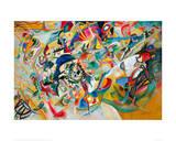 Composition VII, 1913 Giclée-tryk af Wassily Kandinsky