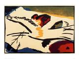 Lyrical, 1911 Giclee Print by Wassily Kandinsky