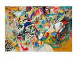Composition VII, 1913 Giclée-trykk av Wassily Kandinsky