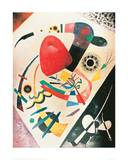 Red Spot, 1921 Giclee Print by Wassily Kandinsky