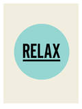 Relax Print by Brett Wilson