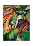 Improvisation 7 (Storm), 1910 Giclee Print by Wassily Kandinsky