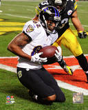 Torrey Smith Touchdown Catch 2014 Playoff Action Photo