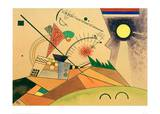 Sketch for Moving Silence, 1923 Giclee Print by Wassily Kandinsky