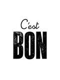 C'est Bon Posters by Brett Wilson