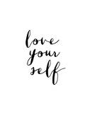 Love Your Self Lámina por Brett Wilson