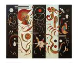 Stripe, 1934 Giclee Print by Wassily Kandinsky