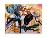 Black Patch, 1912 Giclee Print by Wassily Kandinsky