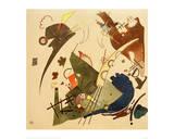 Circling, 1924 Lámina giclée por Wassily Kandinsky