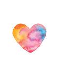 Love Heart Posters by Brett Wilson
