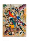Painting with Points, 1919 Giclee Print by Wassily Kandinsky