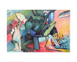 Improvisation No.4 Giclee Print by Wassily Kandinsky