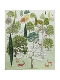The Arboretum Giclée-Druck von Rebecca Campbell