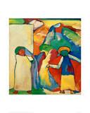Improvisation 6, 1909 Giclee Print by Wassily Kandinsky