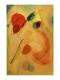 Untitled, 1916 Gicléetryck av Wassily Kandinsky