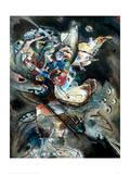 Overcast, 1917 Impression giclée par Wassily Kandinsky