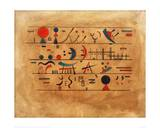 Rows of Symbols, 1931 Giclee Print by Wassily Kandinsky