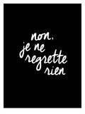 Brett Wilson - Non Je Ne Regrette Rien - Poster