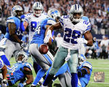 DeMarco Murray Touchdown Run 2014 Playoff Action Photo