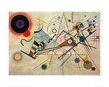 Composition VIII, 1923 Giclée-trykk av Wassily Kandinsky