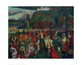 Colourful Life, 1907 Giclée-Druck von Wassily Kandinsky
