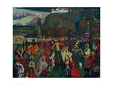 Colourful Life, 1907 Giclee Print by Wassily Kandinsky