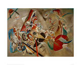 With Grey, 1919 Giclee Print by Wassily Kandinsky