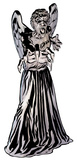 Doctor Who - Weeping Angel Mini Comic Standup Cardboard Cutouts