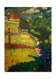 Study for Church in Murnau, 1908 Giclee Print by Wassily Kandinsky