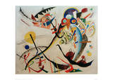 Blue Segment, 1921 Giclee Print by Wassily Kandinsky