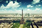 Eiffel Tower in Paris, France Photographic Print by Iakov Kalinin