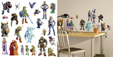 Zelda: Ocarina of Time 3D Peel and Stick Wall Decals Autocollant mural