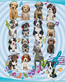 Keith Kimberlin Puppies Headphones 2 Kunstdruck von Keith Kimberlin