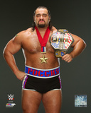 Rusev with Championship Belt 2014 Posed Photo