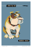 Britain, United Kingdom - English British Bulldog Prints by Harry Rogers