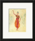 Cambodian Dancers Posters by Auguste Rodin