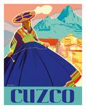 Cuzco, Peru - Machu Picchu Wydruk giclee autor Agostinelli